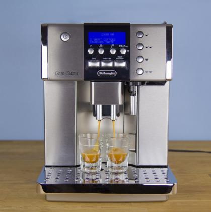Shitet Aparati i Kaffes DeLonghi Full Automatik per CafeLate Expresso Makiato Kapuchino Bambi Qaj